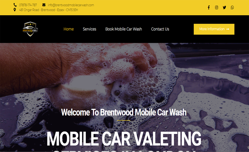 Brentwood Mobile Car Wash Main 950x580